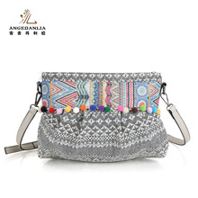 2016 summer new fashion female shoulder hipple small messenger Bags