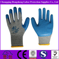 oil-resistant Comfortable colorful safety led work gloves