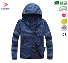Fashion Custom Camouflage Waterproof Windbreaker Mens Clothing Winter Jackets