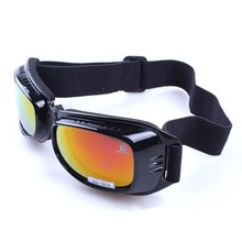 Top fashion polarized goggles for motocross anti scratch 100% with strap