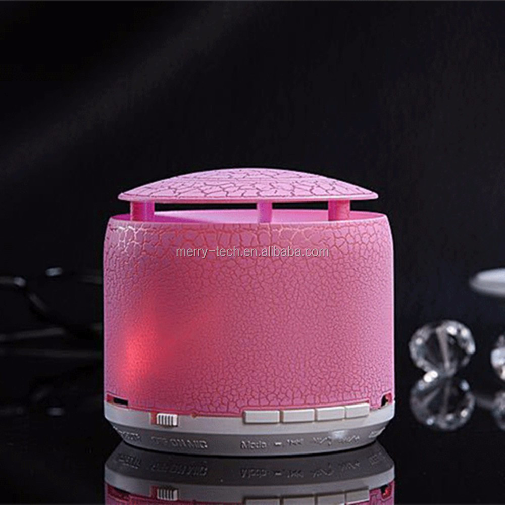 LED bluetooth speaker bedside lamp battery removable portable radio fm speakers