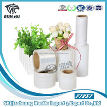 hand use pallet shrink wrap lldpe stretch film (free sample)