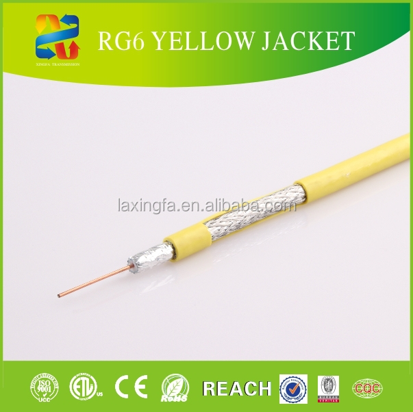 outdoor cctv thin rg6 coaxial cable