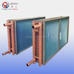 Blue fin air cooled copper condenser coil with price