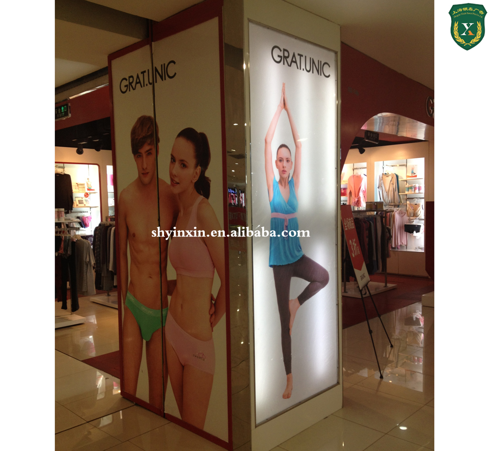 Advertising aluminum frame and pvc graphic roll up banner, retractable banner stand
