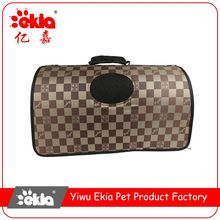 Best prices attractive style soft breathable folding pet carrier plastic