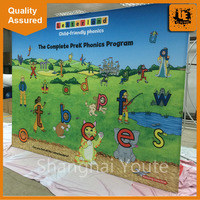 Outdoor advertising art exhibition display stands promotional event backdrop printing display stands