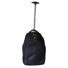 Wheeled laptop trolley backapck travel trolley business backpack bag black
