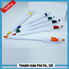 Best price superior quality promotional white color ballpoint pen manufacture
