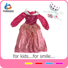 Cheap princess dress up games kids, fancy dress costume for advertising