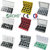 TC Rohs Certification Hardware Assorted Elastic Rubber O-Rings
