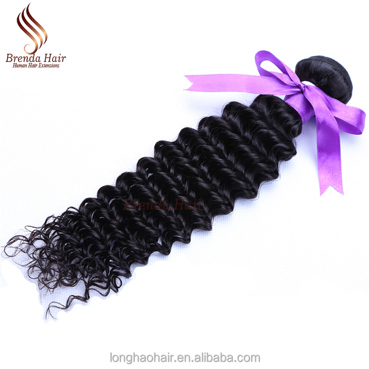 2017 Hot Sale China Brand Human Hair Factory Price Brazilian Hair 100% Unprocessed Raw Virgin Hair