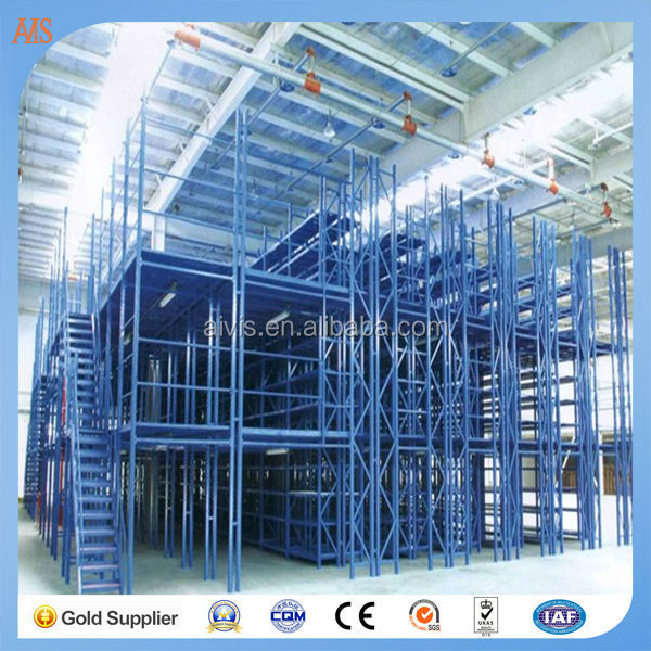 China Manufacturer pallet rack supported steel mezzanine floor