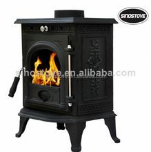 antique cast iron wood oven