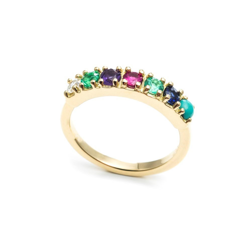 2015 latest gold finger ring designs with gemstone