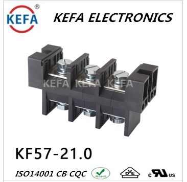 Free sample KF57-21.0mm pitch Barrier Terminal Blocks 600V 115A