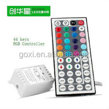Hot selling ad/dc 12V DIY mini RGB led controller 44keys