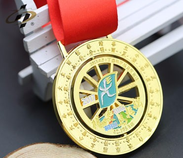 Custom metal made funny kids sport medal