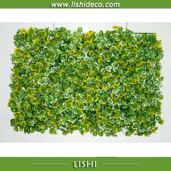Artificial Mint Leaves Green Wall