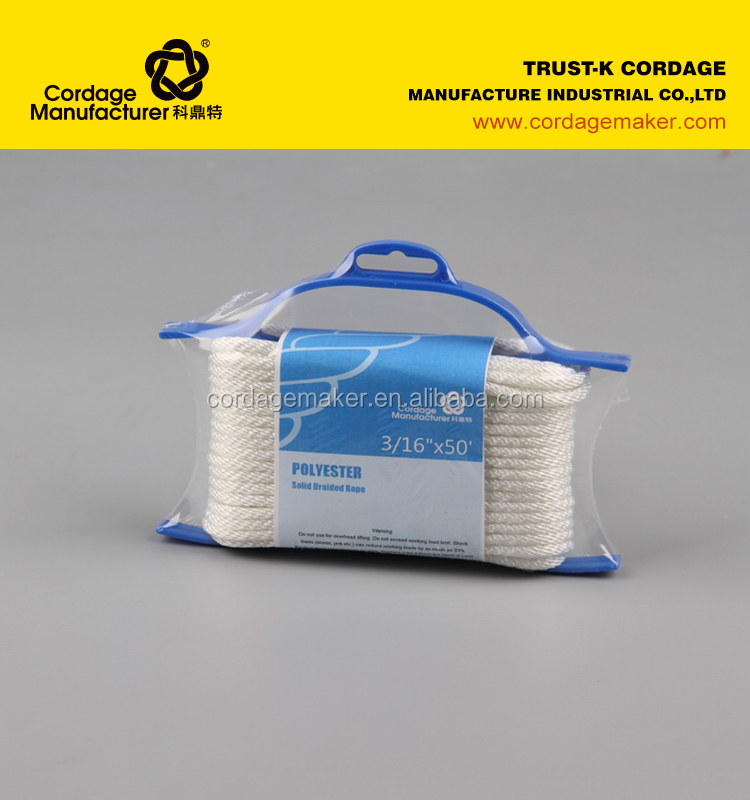 Nylon rope with high breaking strength