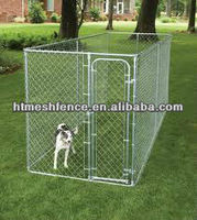 6x10x6 cheap dog kennel wholesale galvanized anti-rust kennels for dog fence panels