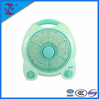 Great quality 4 SPEED 10 inch box table fan