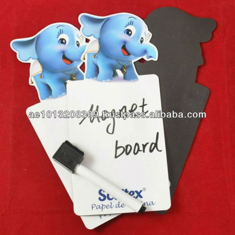 Beauticul full color printing magnet board & mark pen