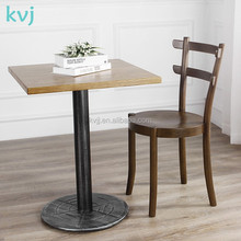 KVJ-4083 New style bistro cafe wooden beauty chair