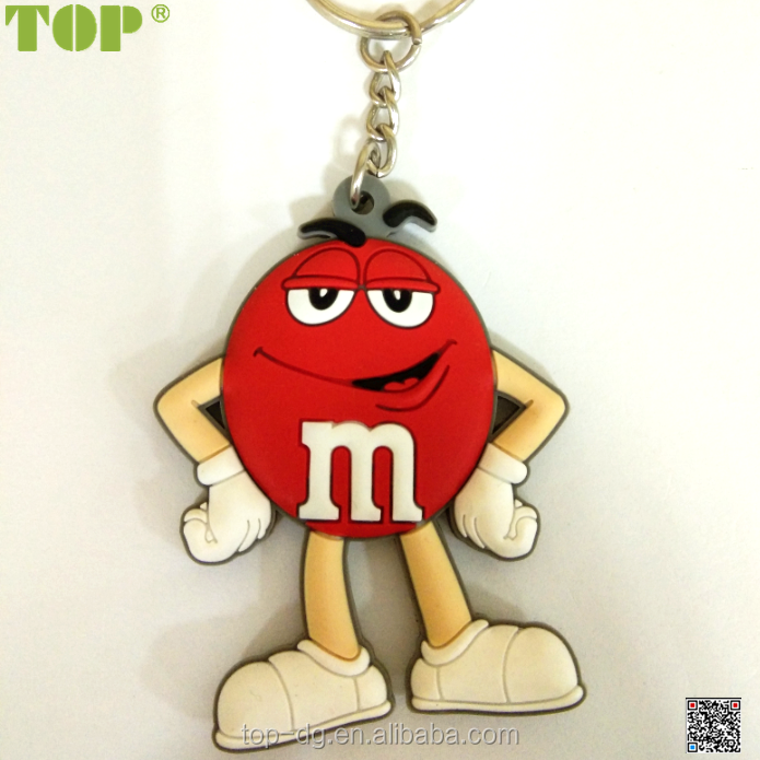 HOT SELLING CUSTOM CARTOON FIGURE PVC KEYCHAIN