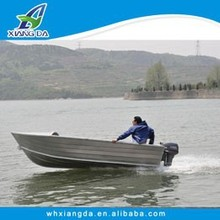 China CE certificate manufacture welded small 12ft aluminum boat