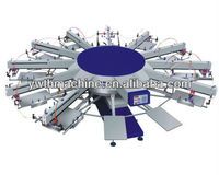 Automatic Screen Printing Machine for T-Shirts
