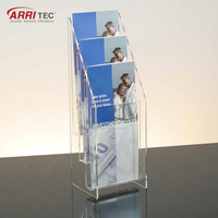 Wall Mounted Durable Recyclable Acrylic Document Display Holder