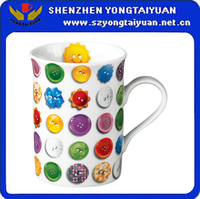 Chinese wholesale fine porcelain coffee & water mug
