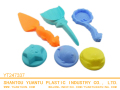 Hot sale summer 6PCS sea animal model sand beach set educational toys for kids