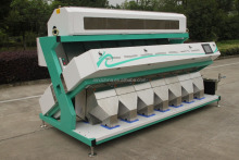 intelligent ccd rice color sorter machine