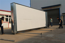 Panelized Decorated Environmental Bali 10ft fold container house design