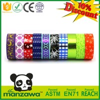 Multifunctional waterproof washi tape free sample