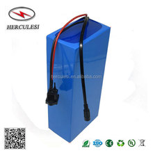 Rechargeable 72V 40Ah NMC Lithium Ion Battery Pack Built-in 50A BMS For Electric Bike