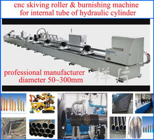 cnc skiving roller burnishing machine for internal hydraulic cylinders