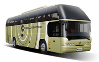 Dongfeng 4x2 12m Bus 60 Seater /Luxury Bus Price /Luxury Bus Design