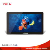 "22"" lounge wall mounted multi-touch LCD advertising player"