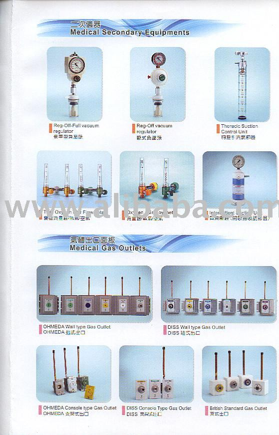 Medical Flowmeter/Regulator/Gas Outlet