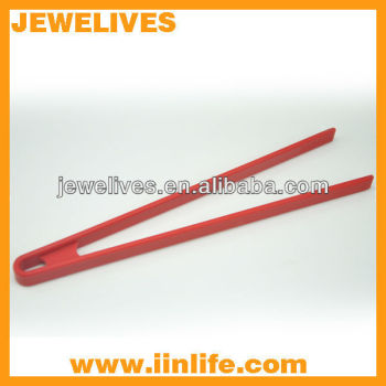 Eco-friend silicone chopsticks food tongs