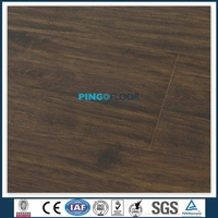 PINGO oak color ac3 household with wax laminated flooring