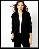 China Manufacturer Women Business Suit Coat , OEM Brand Office Wear Women's Coat, Coat Buyer In South Korea