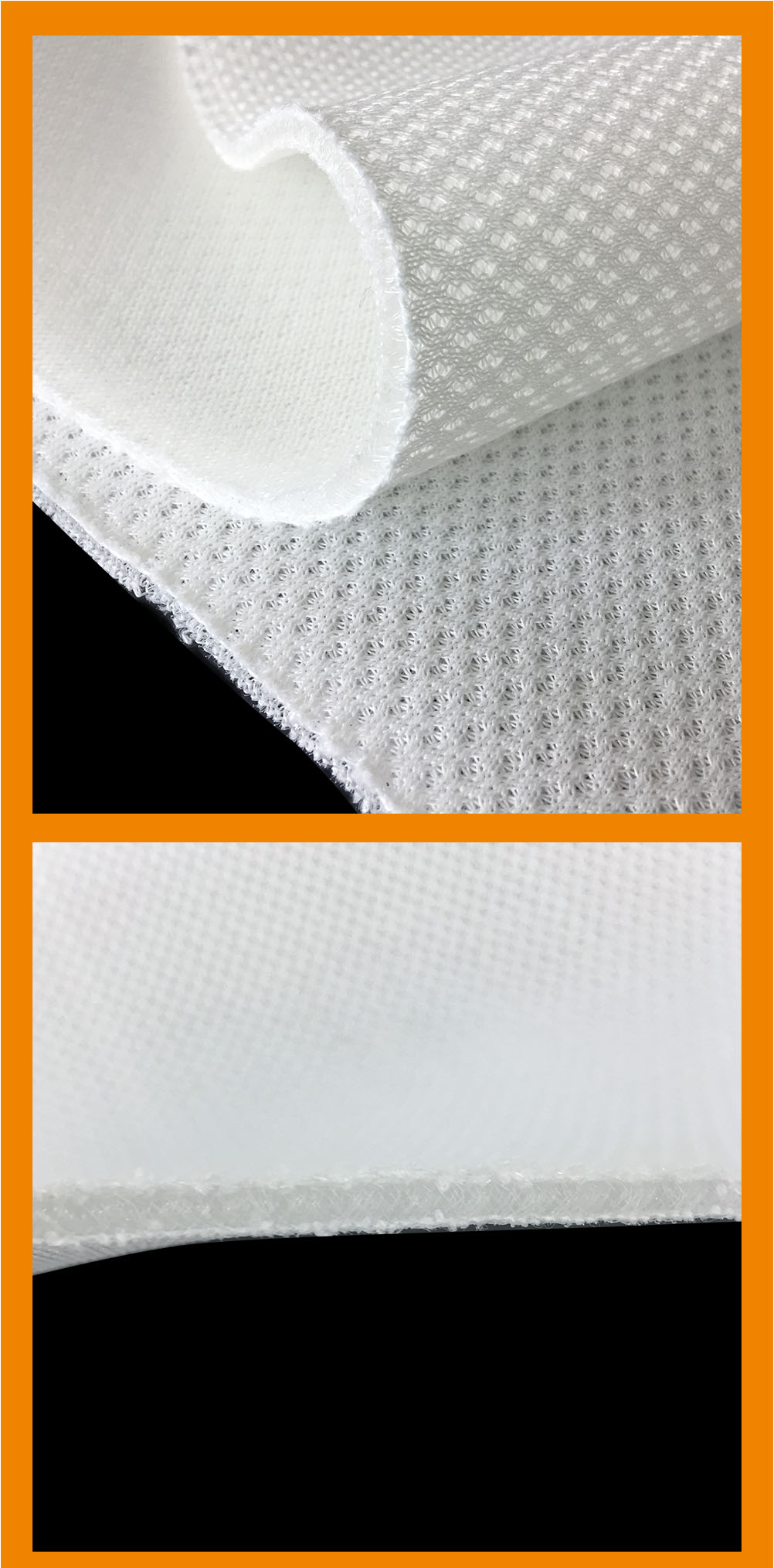 wellcool 100% polyester air mesh fabric mattress edge tape