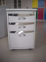 Stainless Steel Hospital Furniture Mobile drawer Cabinet storage locker