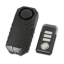 Super Light Wholesale Price bike alarm remote start easy to install motorcycle burglar vibration sensor Waterproof IP55
