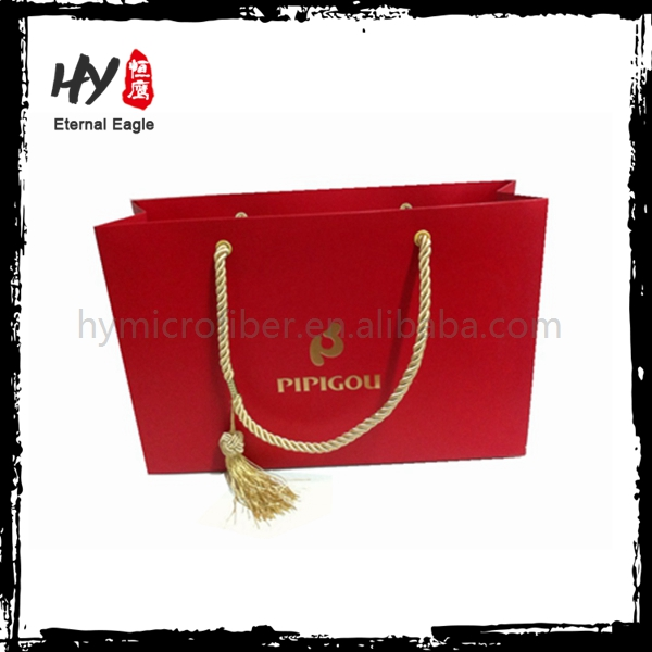 High class useful reinforce bottom durable paper bag