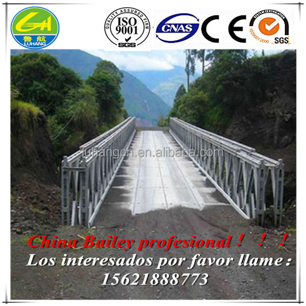 Doble cerchas puentes Bailey/triple trusses bailey bridges